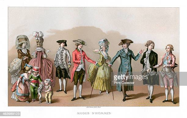 Costume During The Time Of Louis XVI Louis XVI was king of France from 1774 until 1792 when he was beheaded by the revolutionary regime Illustration...
