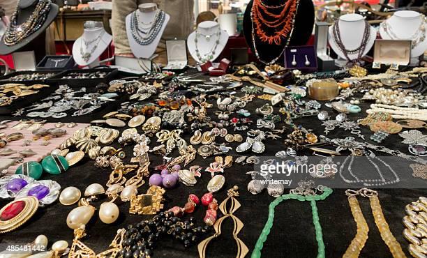 Costume jewellery stall