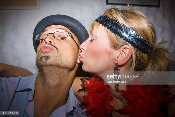 Costume Party Kiss