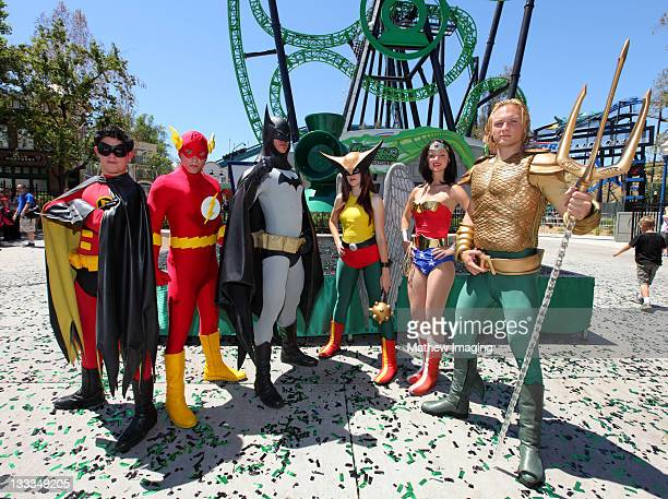 The Green Lantern First Flight Ride Opening Media Day At Six