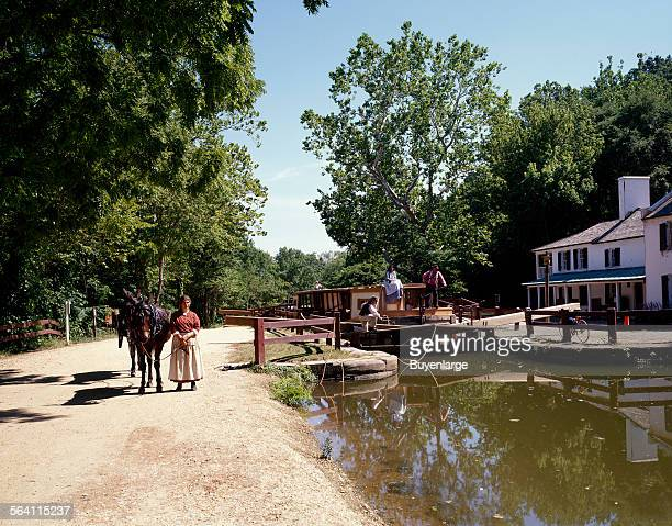 Chesapeake And Ohio Canal National Park Stock Photos And Pictures
