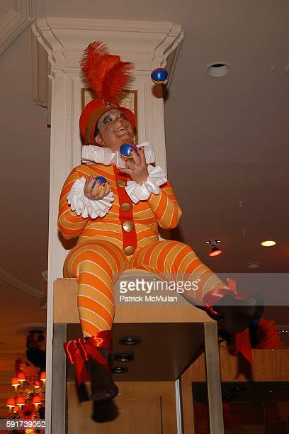 Costumed Performers attends Madonna Childrens Book Lotsa de Casha published by Callaway Arts and Entertainment at Bergdorf Goodman on June 7 2005 in...