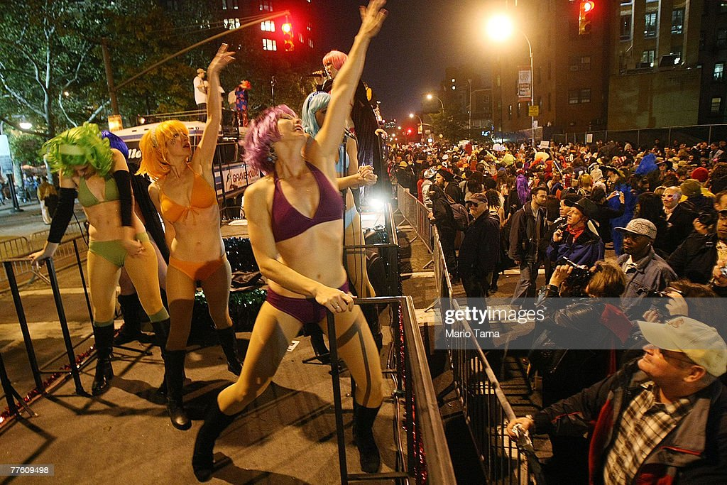 Greenwich Village Hosts Annual Halloween Parade Photos and Images ...