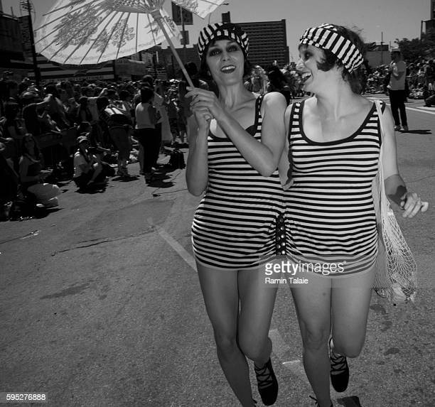 Costumed revelers participate in the 2007 Coney Island Mermaid Parade in Brooklyn The Mermaid Parade has been celebrated on the first Saturday of...