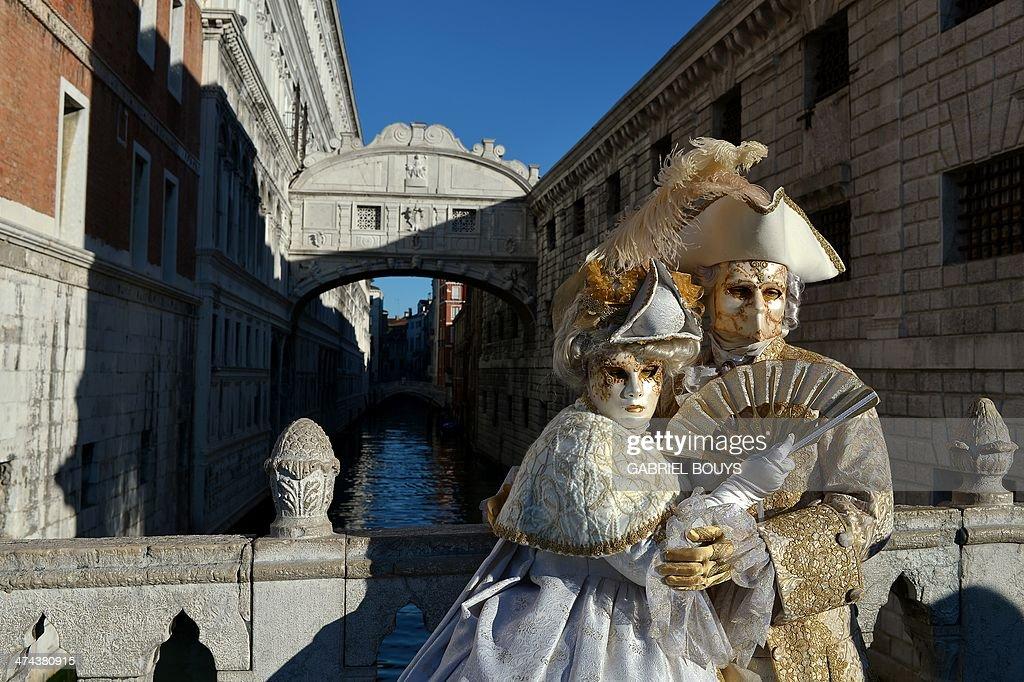 ITALY-VENICE-CARNIVAL : Foto di attualità