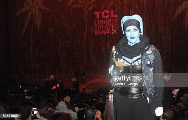 Costumed Star Wars fans at the Opening Night Celebration Of Walt Disney Pictures And Lucasfilm's 'Star Wars The Last Jedi' At TCL Chinese Theatre...