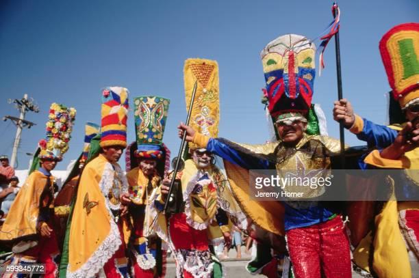 Costumes at Barranquilla Mardi Gras