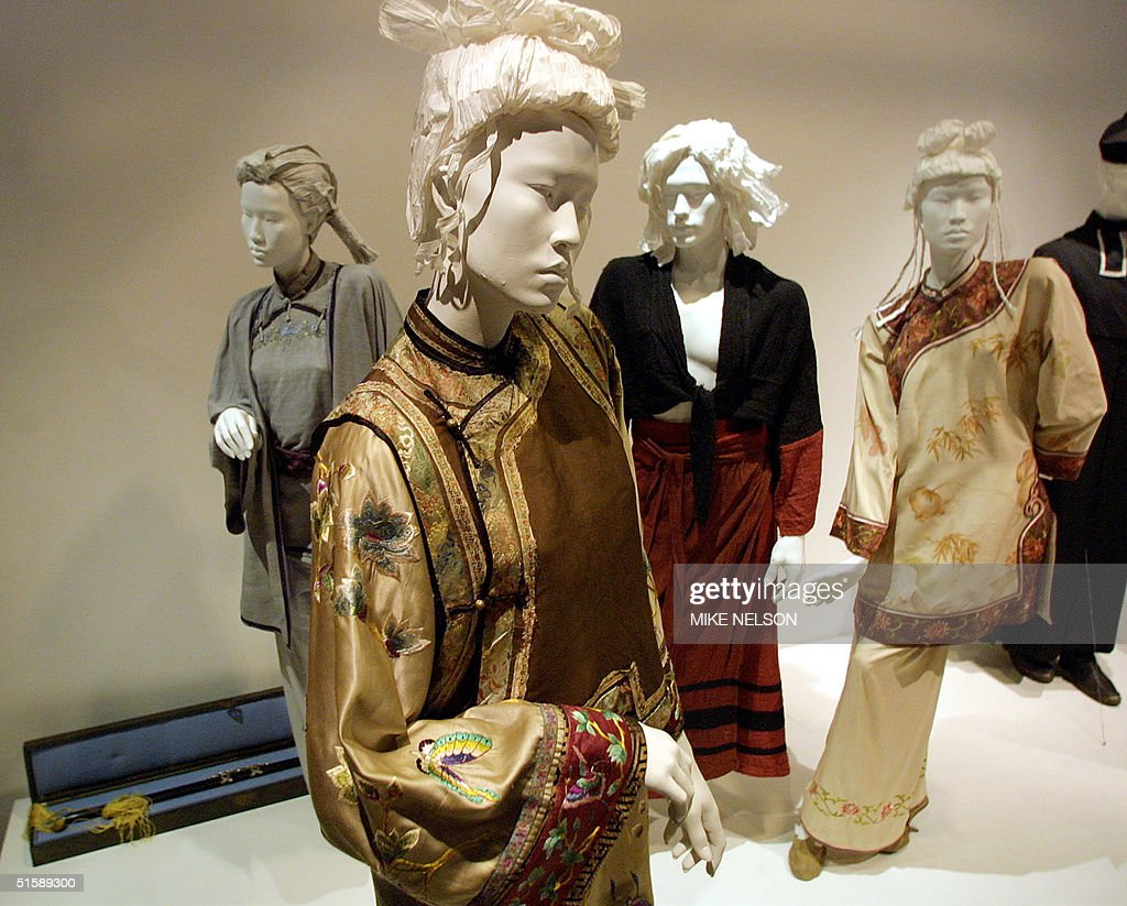 """Costumes from the Oscar-nominated movie """"Crouching : News Photo"""
