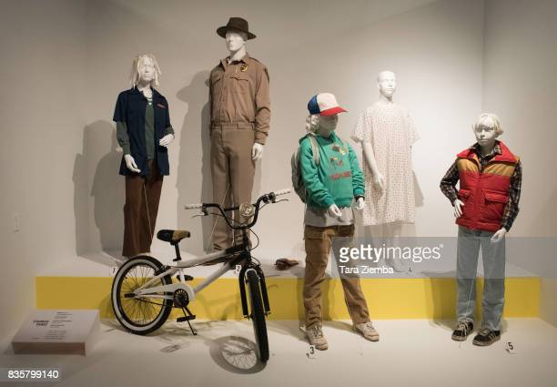 Costumes from the show 'Stranger Things' on display at the media preview of the 11th annual 'Art Of Television Costume Design' exhibition at FIDM...
