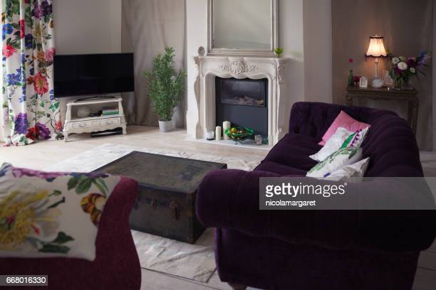 Cosy designer living room