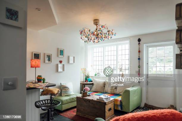 cosy living room - furniture stock pictures, royalty-free photos & images