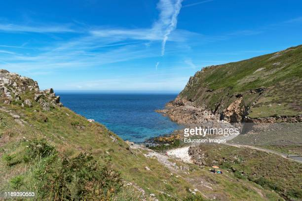 cot valley on the southwest coast of cornwall England Britain uk