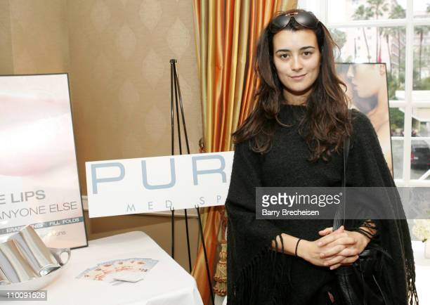 Cote de Pablo at Pure Med Spa during The 2007 Luxury Lounge Presents Marie Claire Fashion Closet Day 1 at Four Seasons in Beverly Hills California...