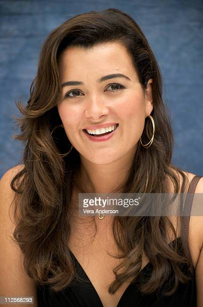 Cote de Pablo at the NCIS press conference at the Four Seasons Hotel on April 22 2009 in Beverly Hills California