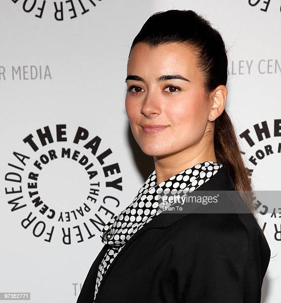 Cote de Pablo attends 27th annual PaleyFest NCIS at Saban Theatre on March 1 2010 in Beverly Hills California