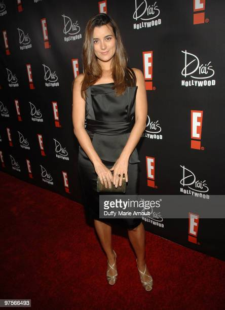 Cote de Pablo attends E Oscar Viewing And After Party at Drai's Hollywood on March 7 2010 in Hollywood California
