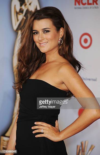 Cote de Pablo attends the 2011 NCR ALMA Awards at Santa Monica Civic Auditorium on September 10 2011 in Santa Monica California