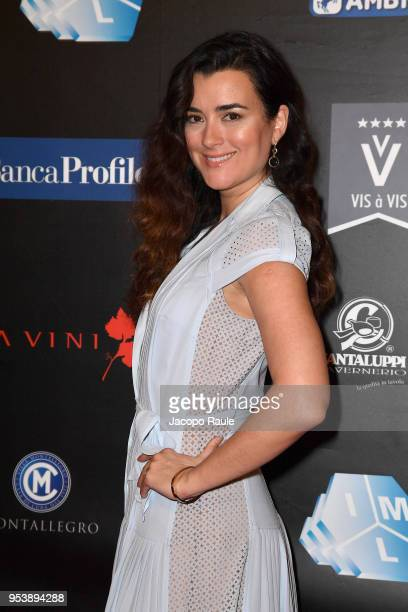 Cote de Pablo attends the Riviera International Film Festival on May 2 2018 in Sestri Levante Italy