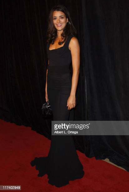 Cote de Pablo during 21st Annual IMAGEN Awards Arrivals at The Beverly Hilton in Beverly Hills California United States