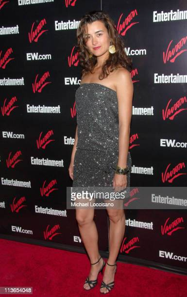 Cote De Pablo during Entertainment Weekly 2007 Upfront Party Red Carpet at The Box in New York City New York United States