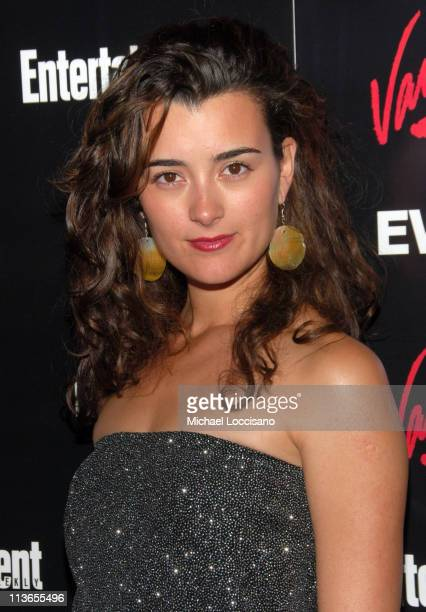 Cote De Pablo during Entertainment Weekly 2007 Upfront Party - Red Carpet at The Box in New York City, New York, United States.