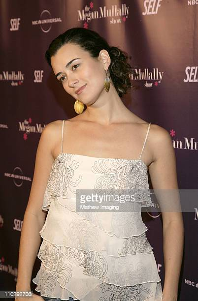 Cote de Pablo during NBC Universal and SELF Magazine Celebrate the Launch of The Megan Mullally Show at Sunset Tower Hotel in West Hollywood...