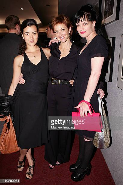Cote de Pablo Lauren Holly and Pauley Perrette *Exclusive*