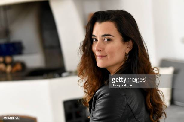 Cote De Pablo poses for a portrait session during the Riviera International Film Festival on May 2 2018 in Sestri Levante Italy