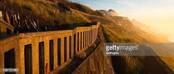 cote des basques - biarritz stock pictures, royalty-free photos & images