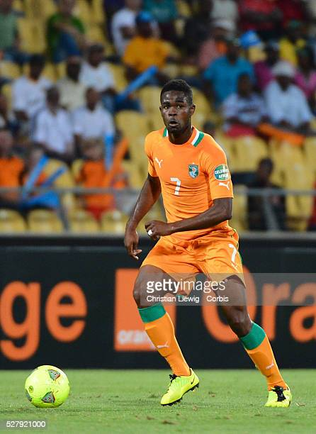 Cote d'Ivoires Abdoul Razak during the 2013 Orange Africa Cup of Nations soccer match AlgeriaVs Cote d'Ivoire at Royal Bafokeng stadium in Rustenburg...