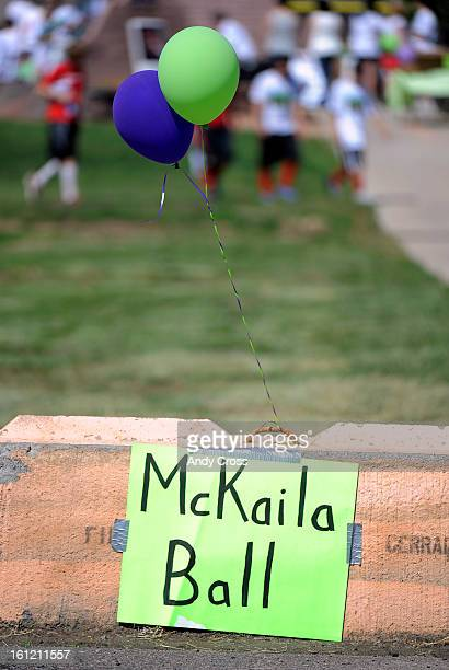 DENVER COThe 3rd annual McKaila Ball a kickball party at the Colorado Rockies Fastpitch Softball Field at the All City Complex in Denver Saturday...