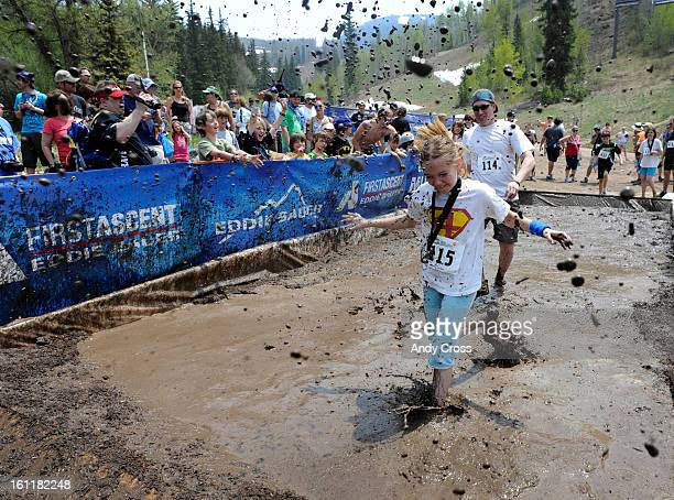 The mud pit during the family division Mud Run at the 10th annual Teva Mountain Games in Vail Saturday, June 4th, 2011. Andy Cross, The Denver Post