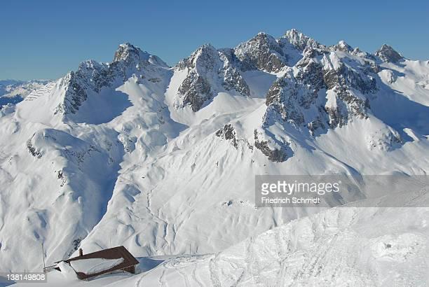 Cottage and Slope in Ski-Resort