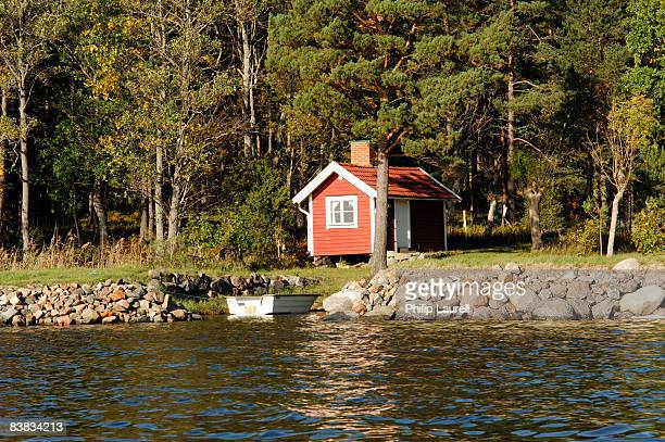 A cottage by the water Sweden.