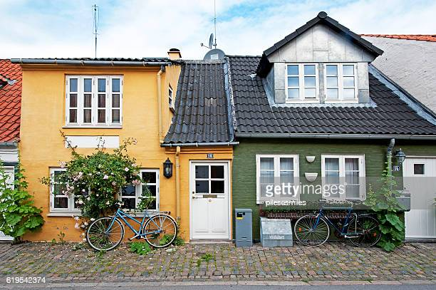 cottage collection, aalborg, denmark - aalborg stock pictures, royalty-free photos & images