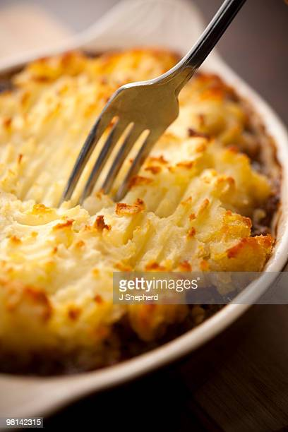 Cottage Pie with Fork