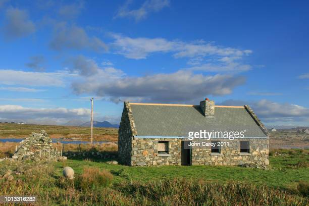 Cottage Restoration in Connemara, Galway, Ireland with beautiful Landscape