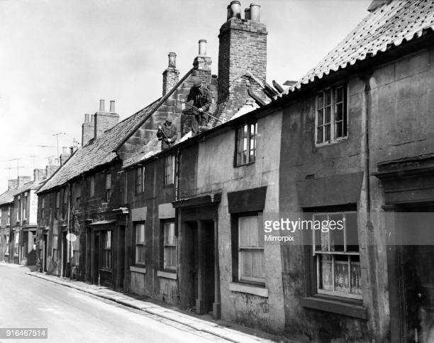 Cottages are being demolished in Northgate and Patten Lane Guisborough The old stonebuilt cottages with their red pantile roofs and chimney stacks...