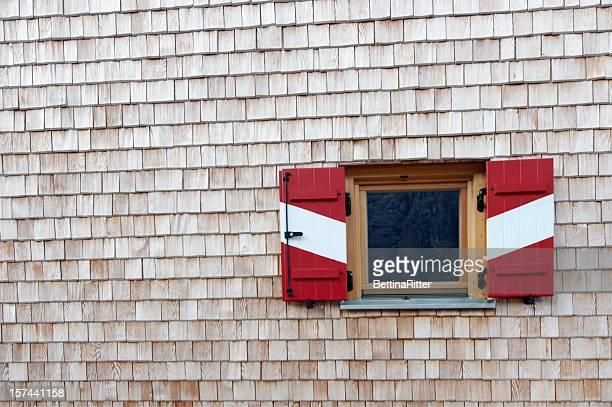 Cottage-fenêtre