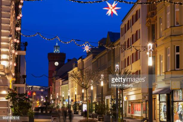 Cottbus Old Town at night