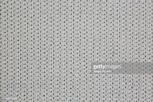 cotton crochet close-up as background - knitted stock pictures, royalty-free photos & images