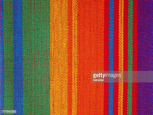 cotton, linnen, wool textile fabric canvas detail background - guatemala stock pictures, royalty-free photos & images