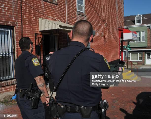 Cotton Street Mini Market Synthetic Marijuana BustReading Police raid the Cotton St. Mini Market at 14th and Cotton streets Thursday. Photo by...