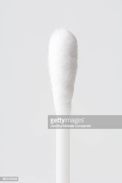 cotton swab, close-up - cotton stock pictures, royalty-free photos & images