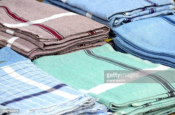 Cotton towels, Gujarat, India