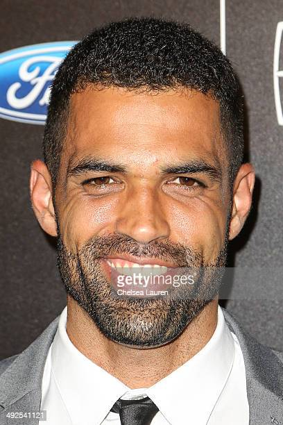 Cottrell Guidry arrives at the 39th annual Gracie Awards at The Beverly Hilton Hotel on May 20 2014 in Beverly Hills California