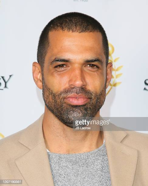 Cottrell Guidry attends the world premiere of Honesty Weekend at the Pasadena International Film Festival on March 14 2020 in Pasadena California