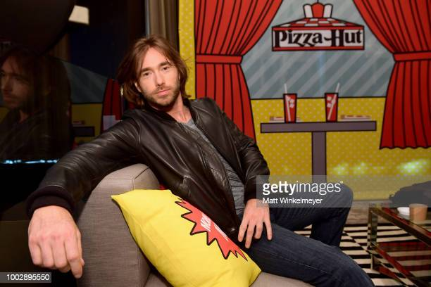 Coty Galloway from TBS's 'Final Space' attends the Pizza Hut Lounge at 2018 ComicCon International San Diego at Andaz San Diego on July 20 2018 in...