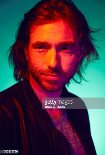 Coty Galloway from TBS's 'Final Space' poses for a portrait at the Getty Images Portrait Studio powered by Pizza Hut at San Diego 2018 Comic Con at...