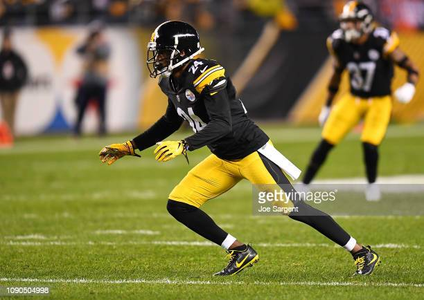 Coty Sensabaugh of the Pittsburgh Steelers in action during the game against the Cincinnati Bengals at Heinz Field on December 30 2018 in Pittsburgh...